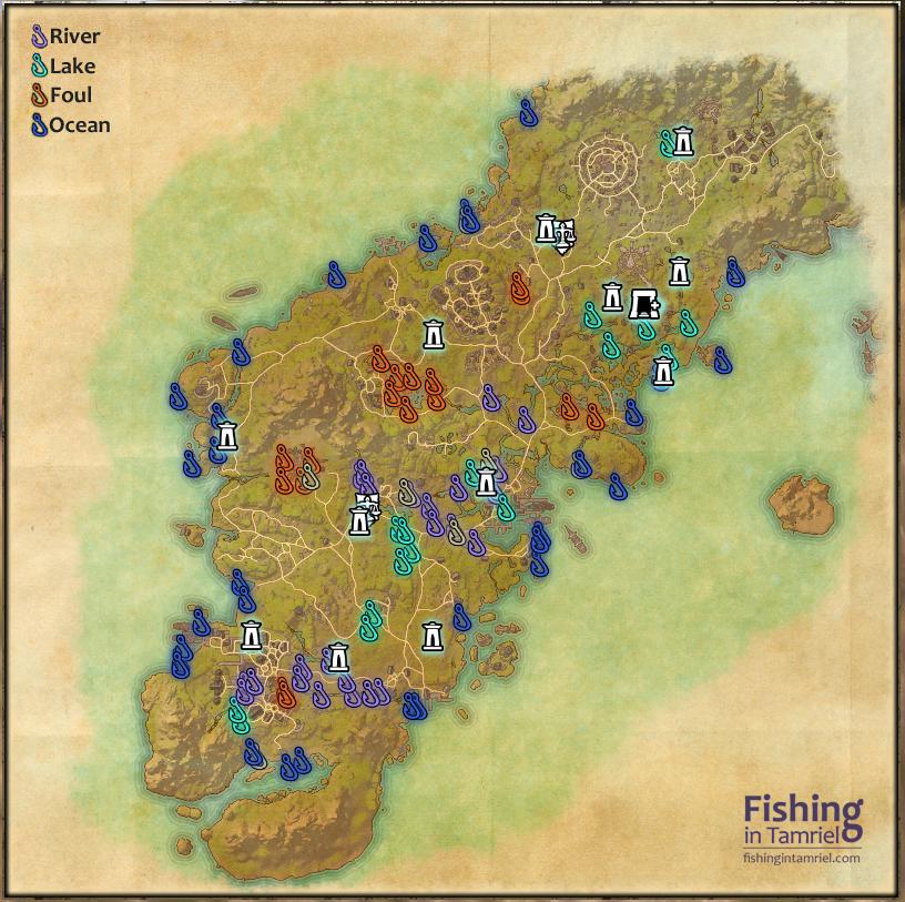 Eso for Fishing guide eso